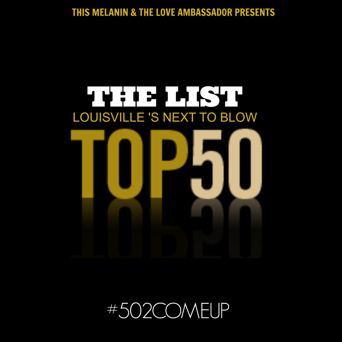 This Melanin Presents: The List - Louisville's Next To Blow (TOP 50)